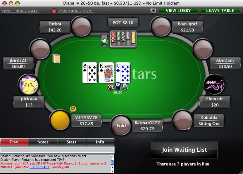 online poker stargame